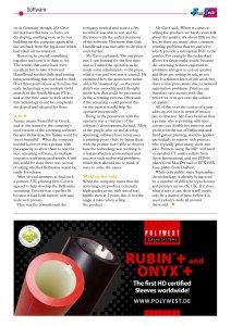 Ultra HD Flexo FlexoTech Magazine December 2017 - Flexo Screening Bellissima DMS article