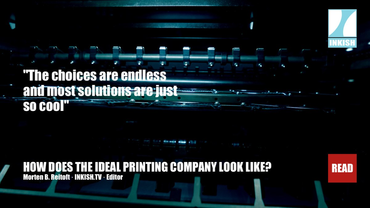 How does the ideal printing company of tomorrow actually look like?