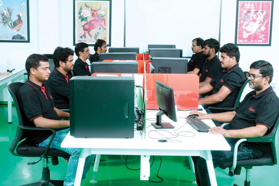 Digiflex reprographics and design team Ultra HD flexo India Bellissima