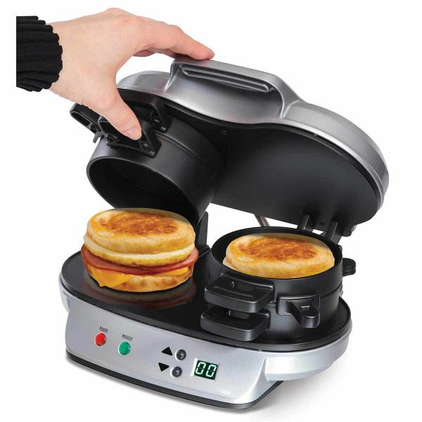 Hamilton Beach Dual Breakfast Sandwich Maker - 25490