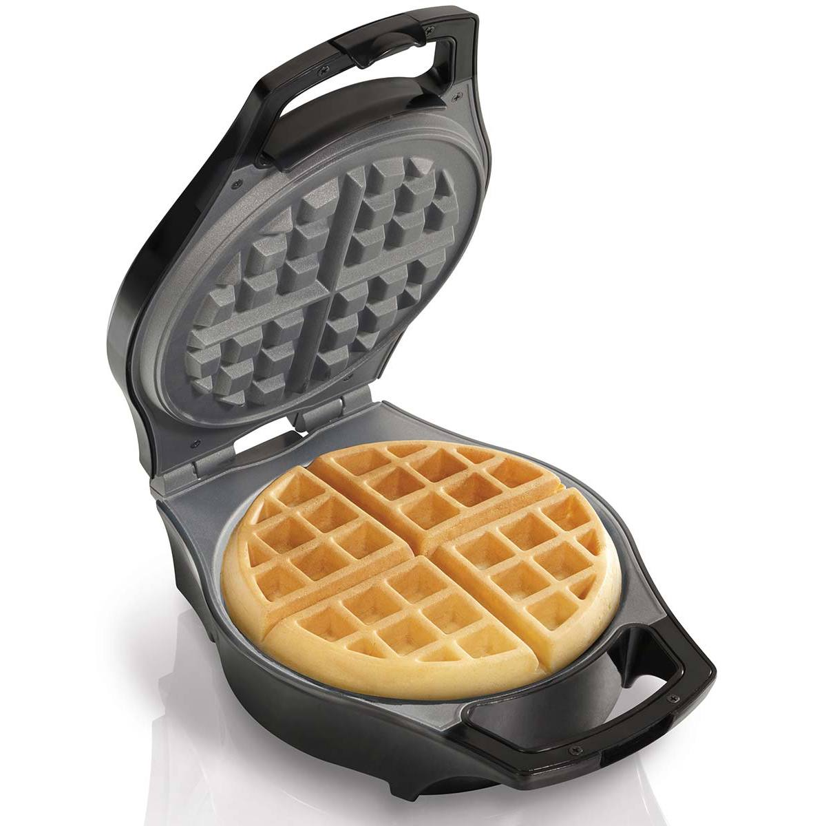Hamilton Beach MessFree Belgian Waffle Maker  26042