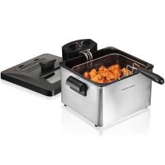 Kitchen Fryer Commercial Ventilation Deep Fryers Hamiltonbeach Com 35034