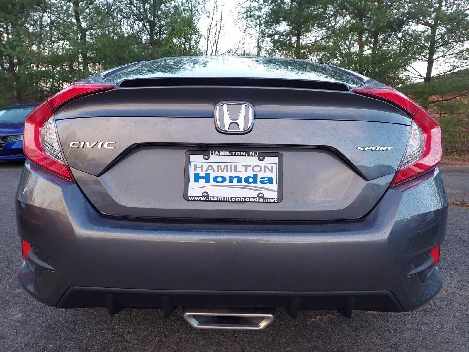 2021 Honda Civic Sport CVT Hamilton NJ   Princeton Trenton Freehold New Jersey 2HGFC2F82MH506989