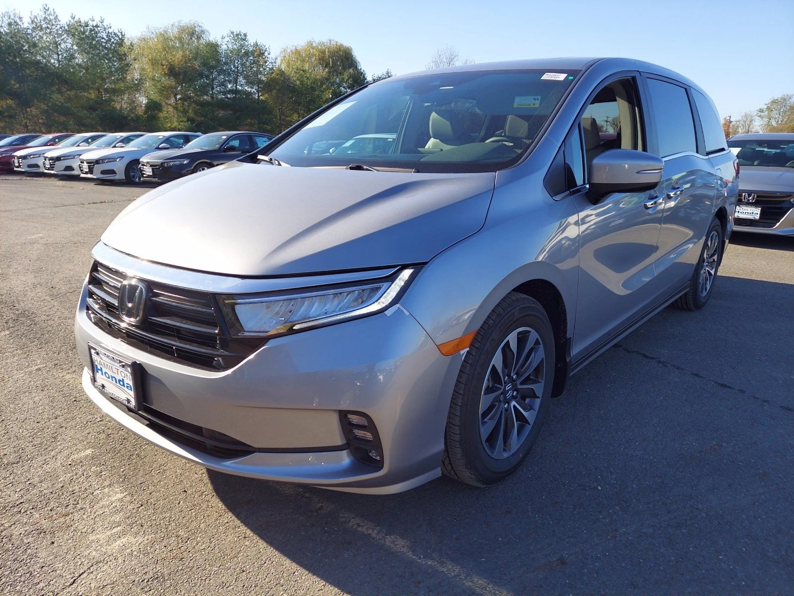 2021 Honda Odyssey EX-L Auto Hamilton NJ   Princeton Trenton Freehold New Jersey 5FNRL6H73MB024657