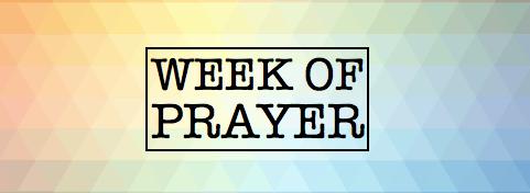 Week of prayer Banner