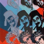 Ten Portraits of Jews of the Twentieth Century - The Marx Brothers [II.232], 1980