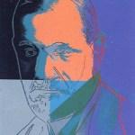 Ten Portraits of Jews of the Twentieth Century - Sigmund Freud [II.235], 1980