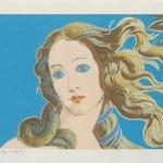 Details Of Renaissance Paintings (Sandro Botticelli, Birth of Venus, 1482), [II.319], 1984