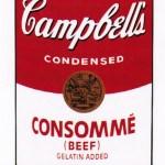 Campbell's Soup I: Consommé, [II.52], 1968