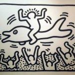 Untitled (Man on a Dolphin B&W), 1987