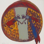 Plains Indian Shield, [IIB.382], 1986