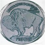 Buffalo Nickel, [II.374], 1986