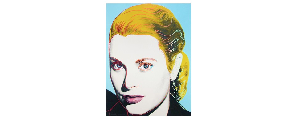 Warhol, Warhol Gallery, Grace Kelly, Pop Art, Warhol