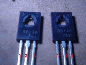 transistor BD 139&140