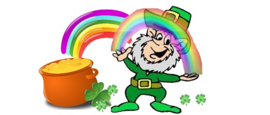 Of course, it is a flawed theory. Everyone knows leprechauns don't deal in cash... or bags.