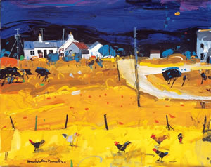 Farm Hens, Skye