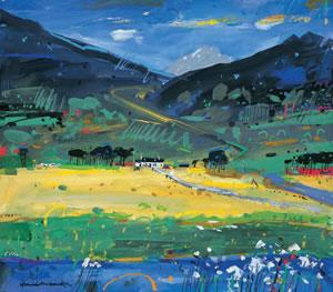 Glencoe Painting Scottish Artist