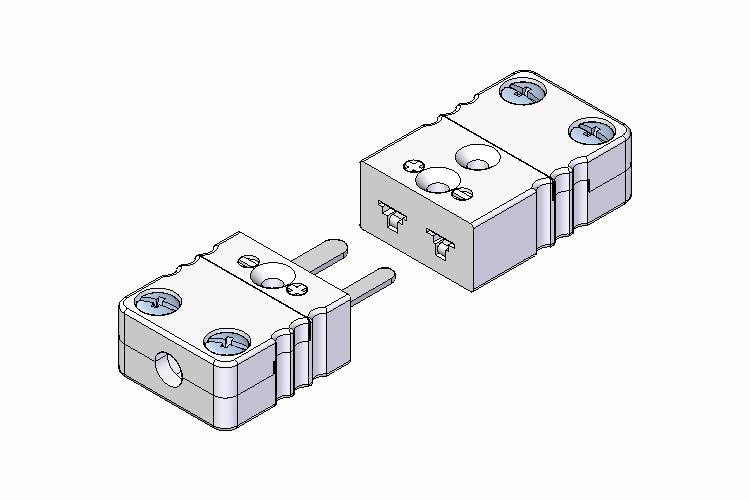 Miniature Ceramic Thermocouple Connector