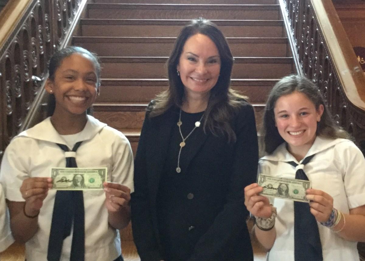 Former U S Treasurer Rosie Rios Speaks At Hamlin The Hamlin School Blog