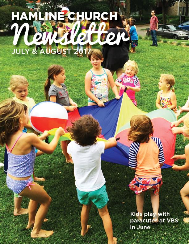 July & August 2017 Newsletter