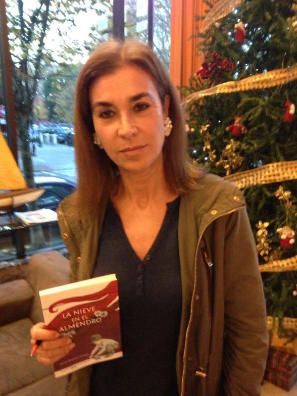 Carmen Posadas y la caricia de la alegría