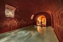 Sala caliente Hammam Al Andalus Madrid