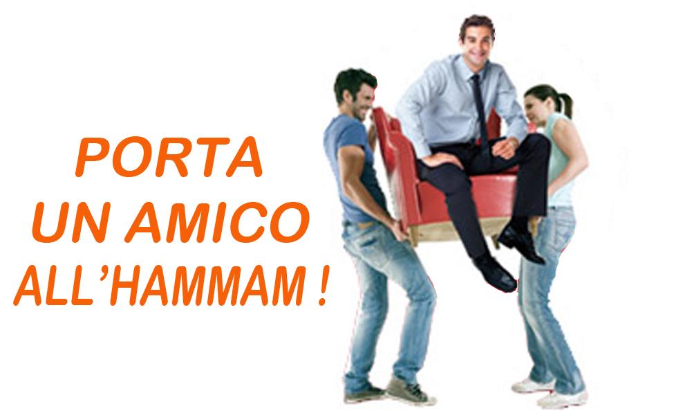 PROMOZIONE PORTA UN AMICO   Hammam e Bagno Turco Genova  Mille Una Notte