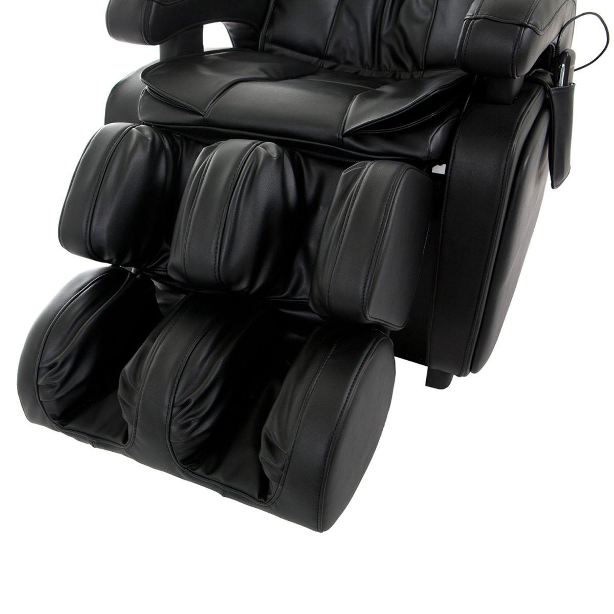 pure gym massage chair microfiber accent finnspa premion black