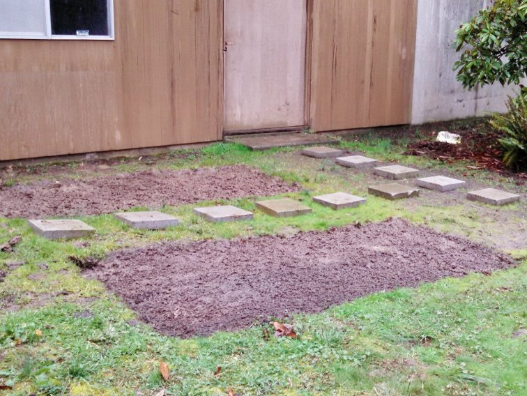 Prepare your land for raised beds
