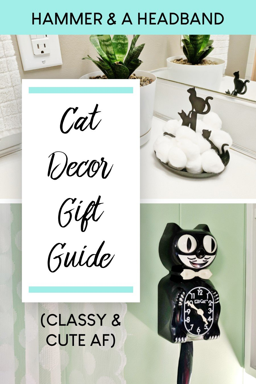 Cutest Cat Decor Gift Guide For The Dedicated Cat Lady