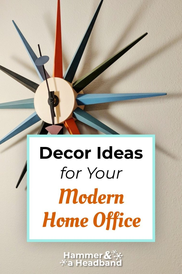 Decor ideas for your modern home office