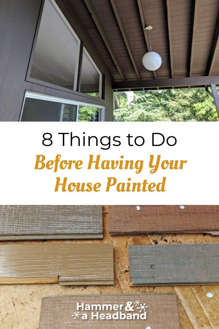 8 things to do before having your house painted