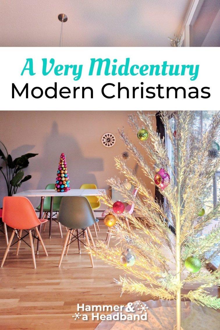 A very mid-century modern Christmas
