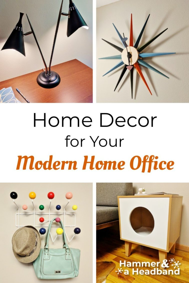 Home decor for your modern home office
