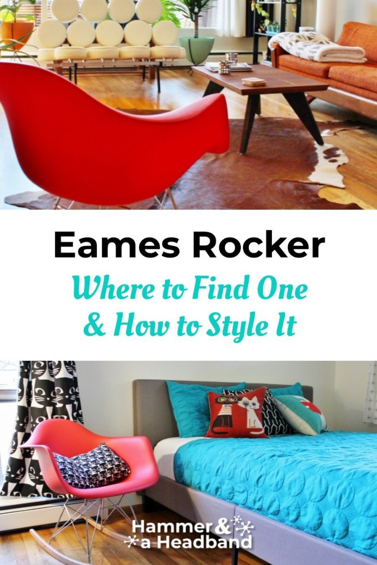 Where to find an Eames rocker and how to style it