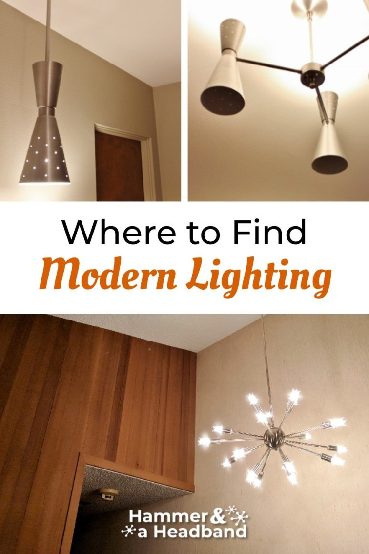 Where to find mid-century modern lighting