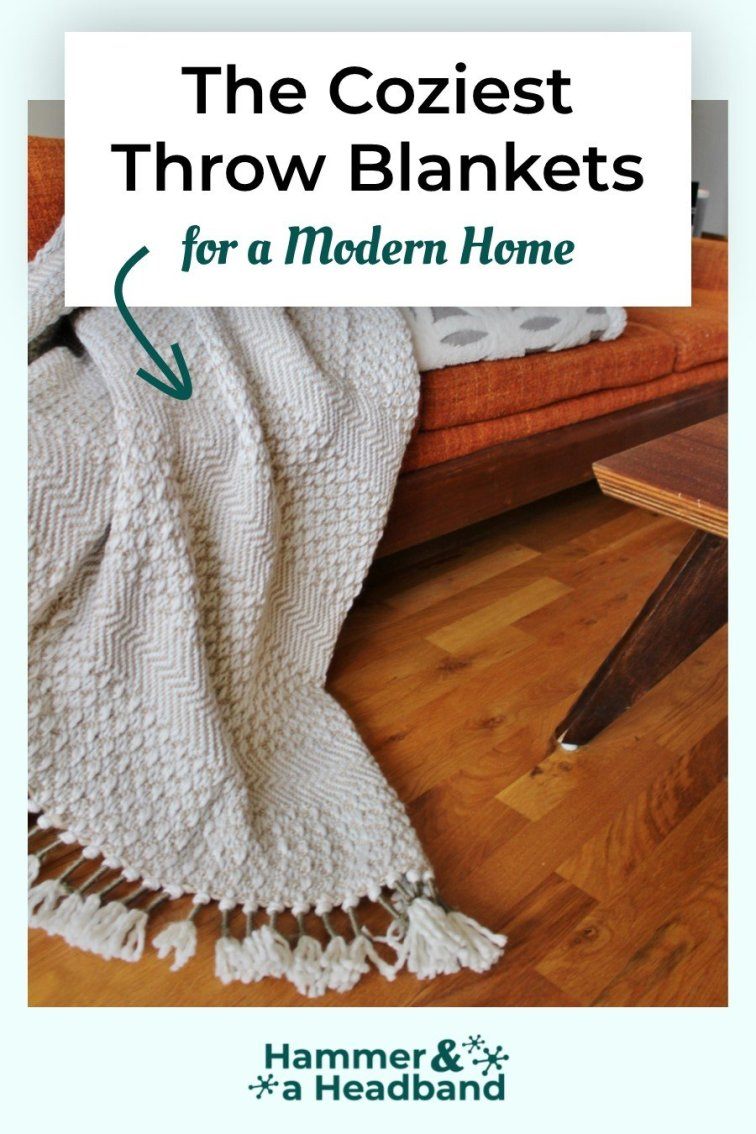 The coziest throw blankets for a modern home