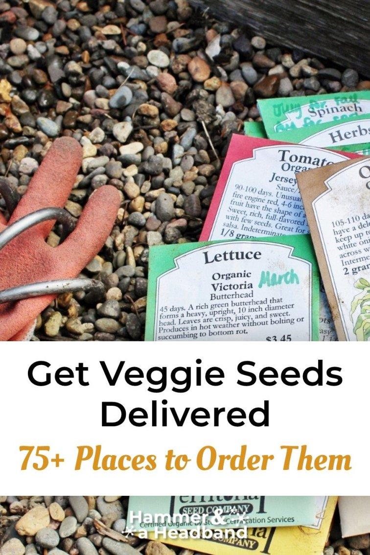 Get veggie seeds delivered