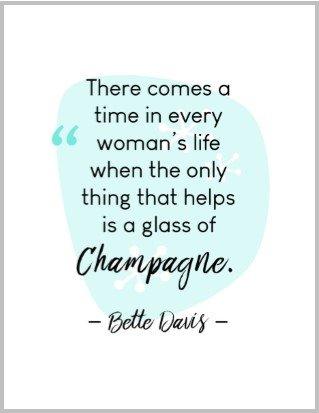 Bette Davis quote print