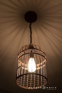 DIY Pendant Light: Bright New Life for a Rusty Birdcage ...