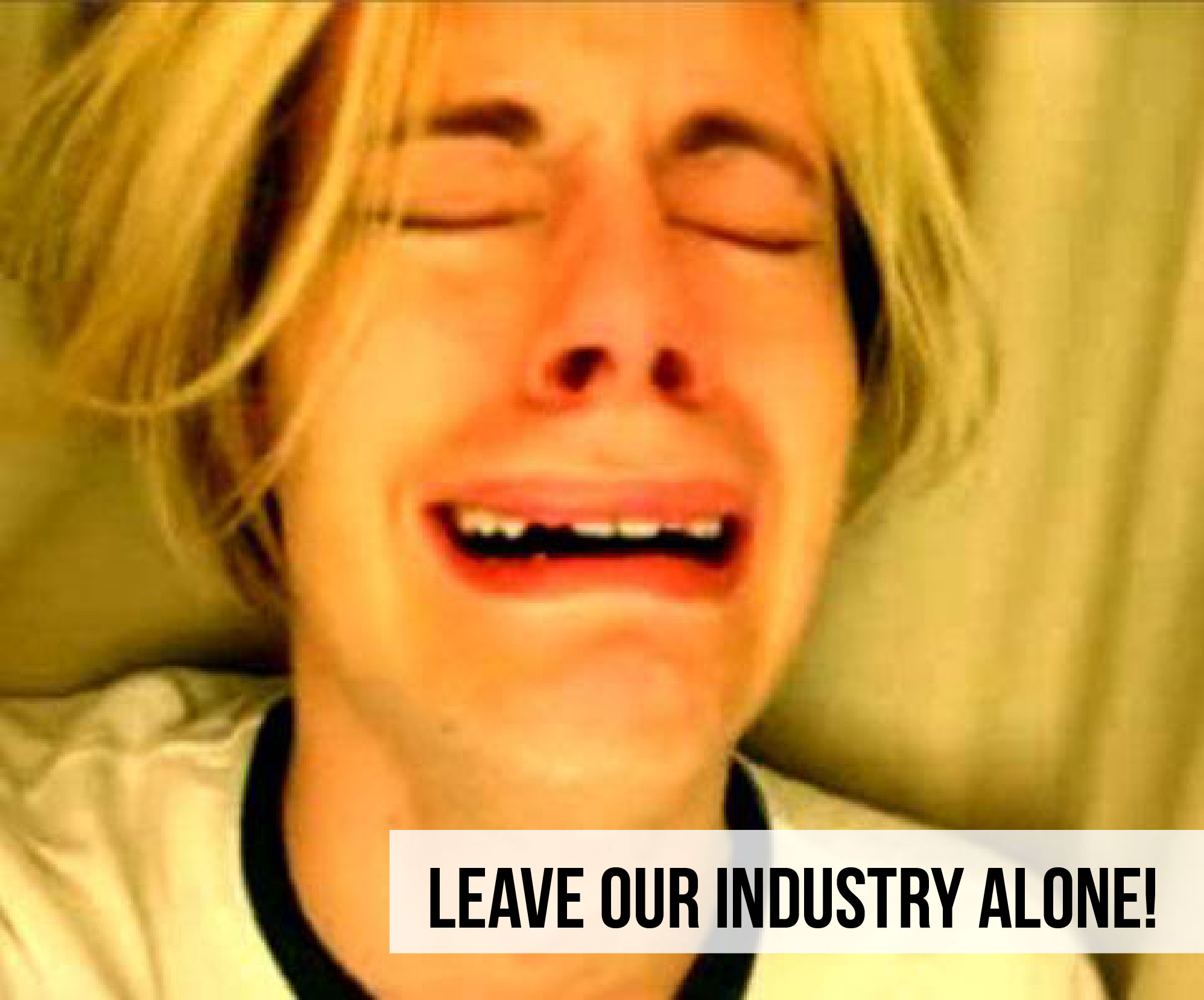 Leave our industry alone