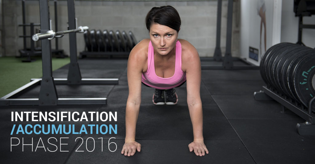 Intensification Accumulation Phase 2016