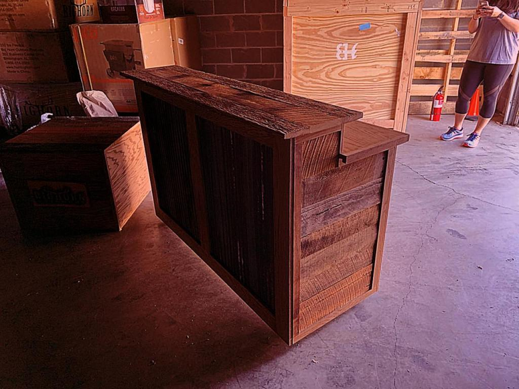 Trade Show Counter Displays Hammerhead Woodworks