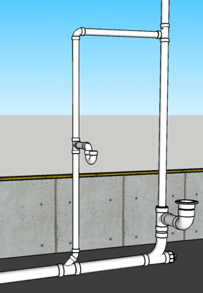 How To Plumb a Bathroom (with multiple diagrams)  Hammerpedia