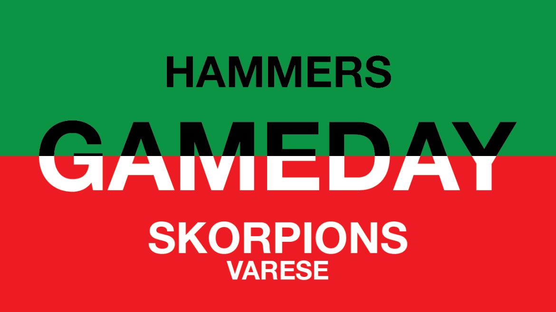 Articolo-56---GAMEDAY-hammersVSskorpions-season2016-week07