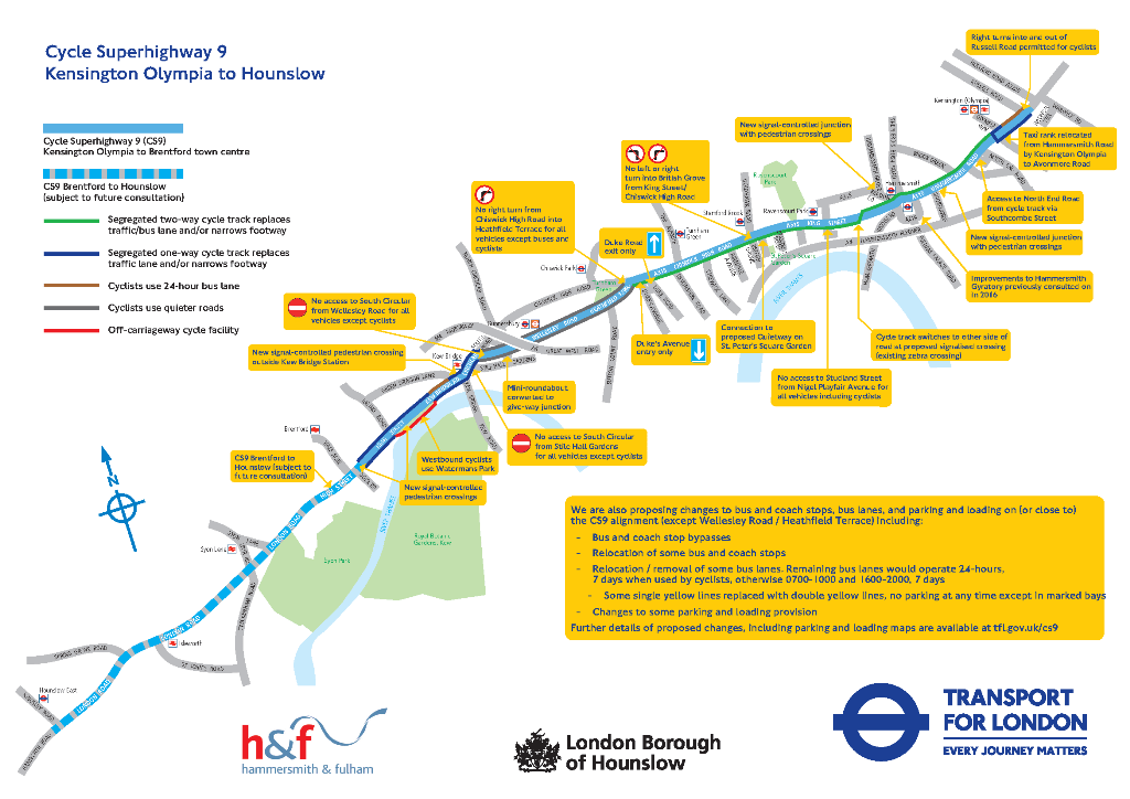 CS9 proposed route