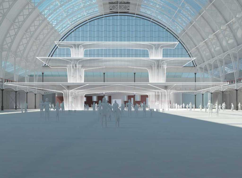 Grand Hall proposed redevelopment