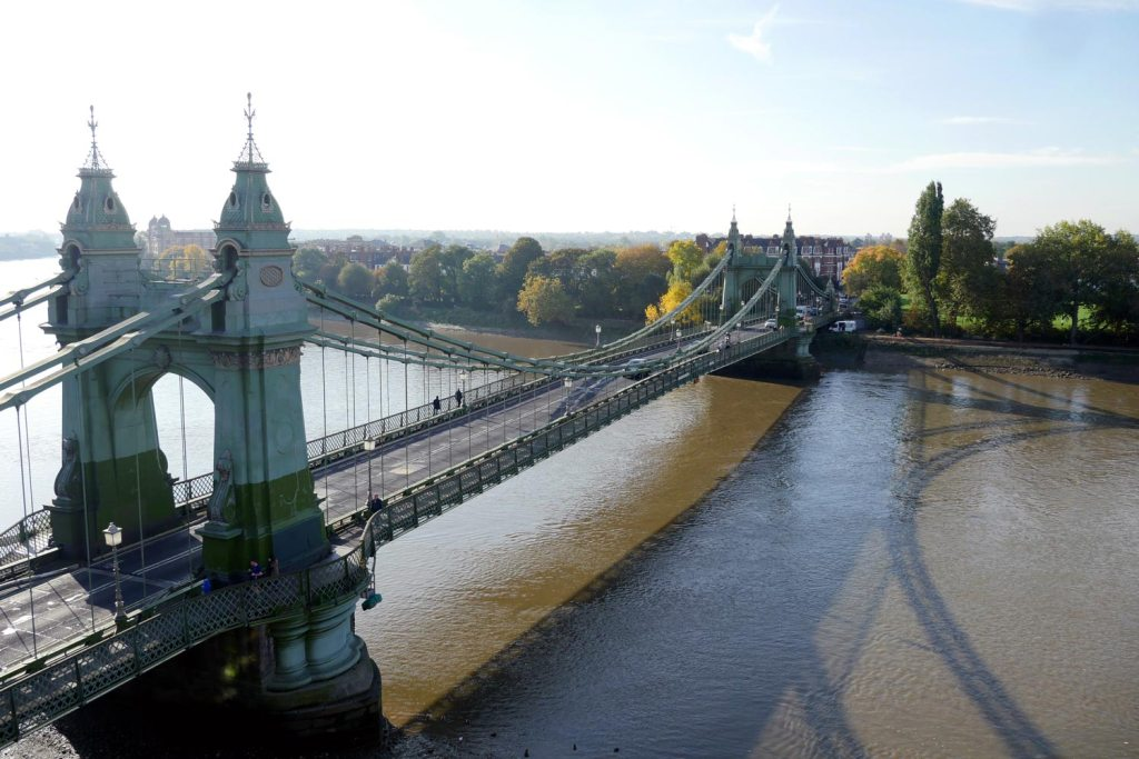 Hammersmith Bridge photo: Jane Bain