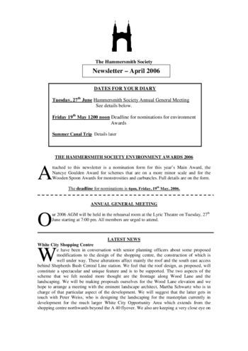 thumbnail of 2006-May_newsletter