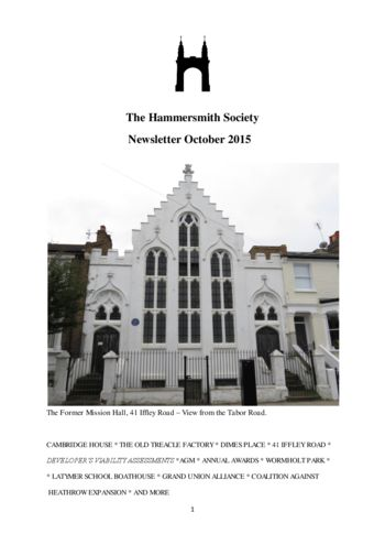 2015-october_newsletter_hammersmith-society